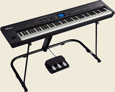 Roland RD-800 Stage Piano on KS-G8 angle stand