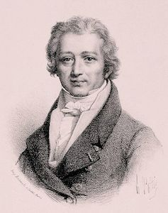 Portrait of Sebastien Erard, inventor of double escapement
